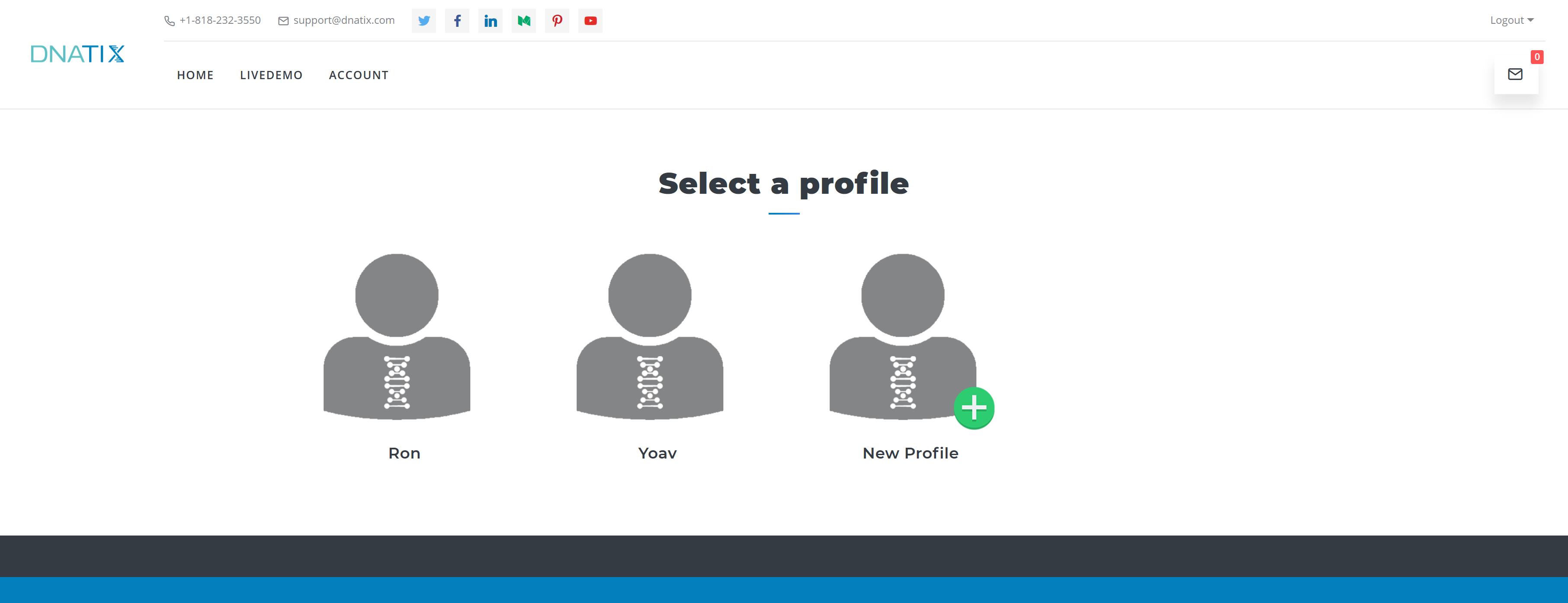 DNAtix - Profile